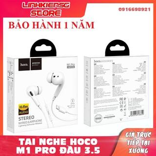 Tai Nghe Hoco M1 Pro 3.5 tai nghe Kiểu Dáng Airpod Pro tai nghe điện thoại Deep Bass với Mic