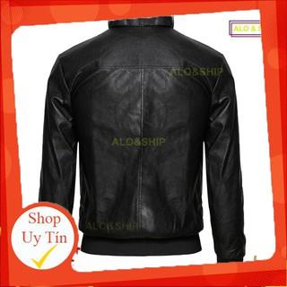 Áo khoác da lót lông nam thời trang cao cấp gabo AD023 cao cấp Liên hệ mua hàng 084.209.1989