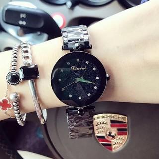 Đồng hồ nữ Dimini dây thép ko gỉ hàng chính hãng size 34mm thumbnail