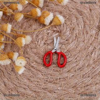 go shopping 1 12 Dollhouse mini metal red scissors simulation furniture scissors model toys thumbnail