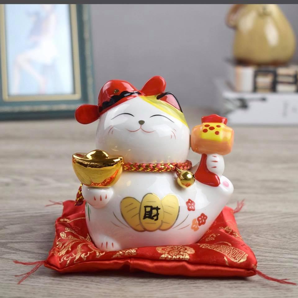 Mèo Thần Tài cầm vàng 12cm - 14597045 , 183854554 , 322_183854554 , 220000 , Meo-Than-Tai-cam-vang-12cm-322_183854554 , shopee.vn , Mèo Thần Tài cầm vàng 12cm