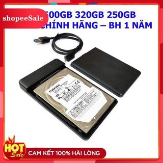 (Hàng Mới Về) Ổ cứng di động 1TB 500GB 320GB 250GB 3.0 Kèm cáp thumbnail