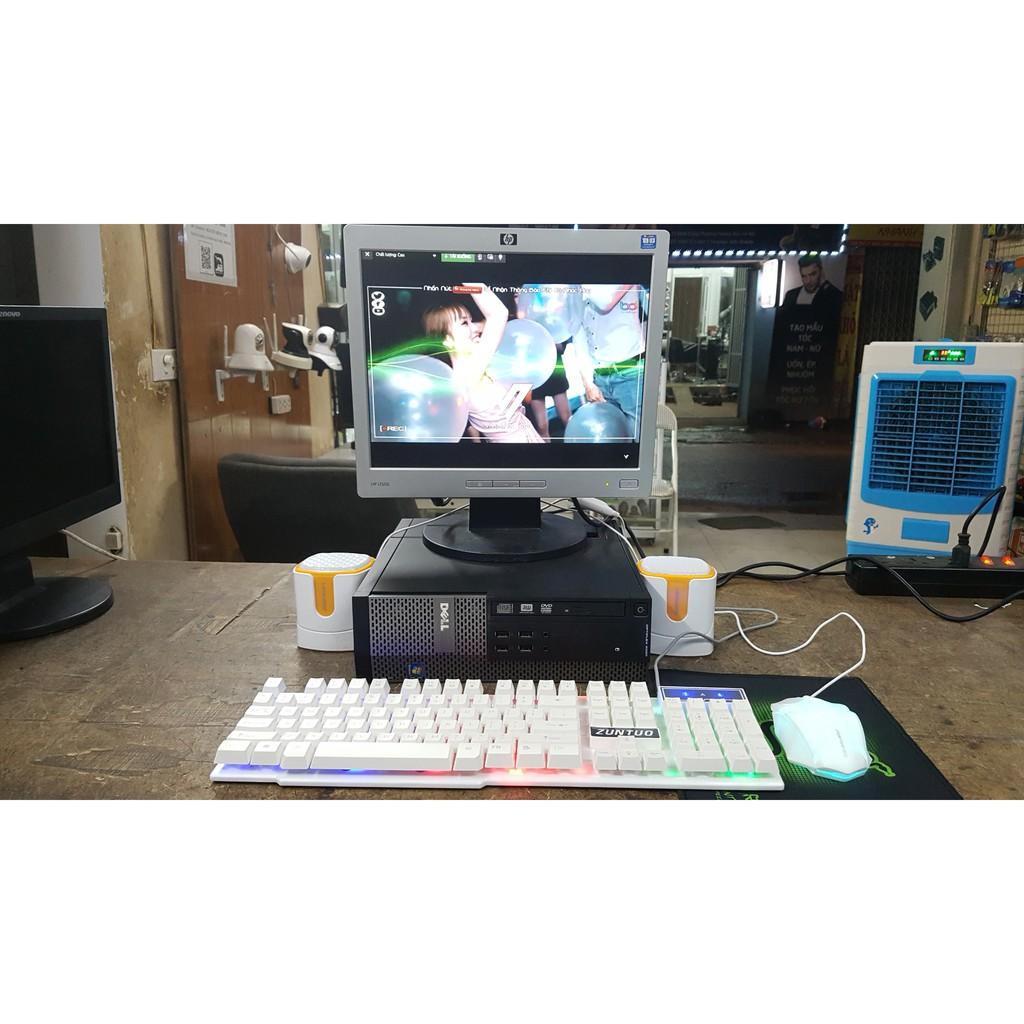 Thùng máy đồng bộ hàng nhập khẩu tặng màn hình, bộ phím chuột, loa 2.0, bàn di chuột
