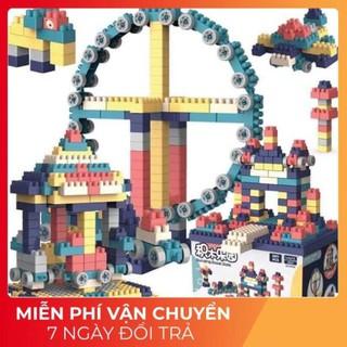 [HÀNG CAO CẤP- CÓ VIDEO]LEGO 520 Chi Tiết /Đồ chơi xếp hình/Đồ chơi trí tuệ nhựa Abs An Toàn Cho Bé