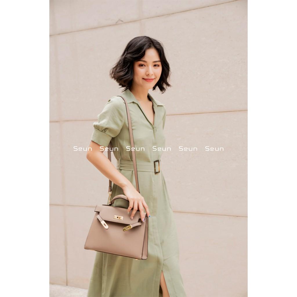 Túi Xách Nữ Công Sở Thời Trang Hàn Quốc Sang Chảnh Túi Đeo Chéo Nữ Kellybag
