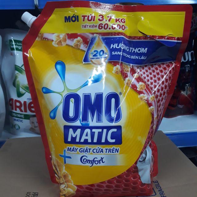 NƯỚC GIẶT OMO MATIC HƯƠNG COMFORT 3.7KG.