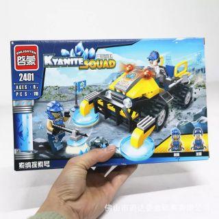 Lego Enlighten 2401 Xe thăm dò năng lượng Bricks Sonar Exploration Vehicle