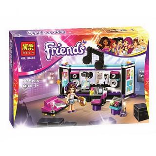 Bộ lego xếp hình Friends – Phòng thu âm Olivia 10403