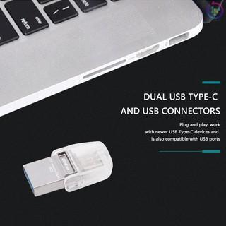 Đầu Đọc Thẻ Nhớ Pcer Kingston 3c 64gb Usb3.1 Type-C Otg Cho Macbook 12/13