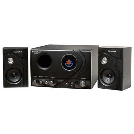 Loa Vi Tính SoundMax A-2100 2.1 60W