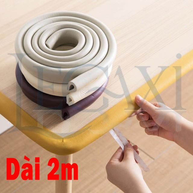 Ron Cao Su Dán Bịt Bọc Góc Cạnh Bàn Cửa Tủ Bảo Vệ An Toàn Cho Bé Legaxi SW90