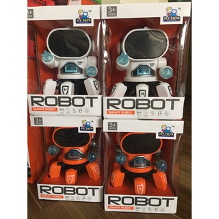 Robot nhện chạy pin