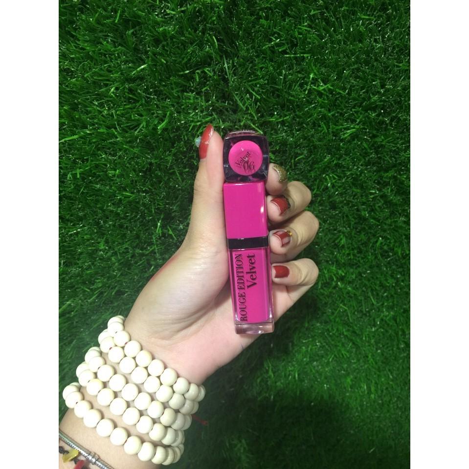 Son Bourjois Velvet màu 06 - Pink Pong