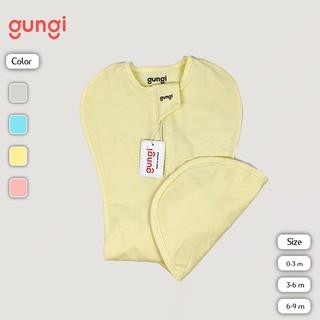 Túi ngủ chống giật mình GUNGI Infant Breezy màu vàng size S M L