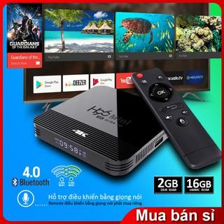 Android Tv box phiên bản 2G Ram và 16G bộ nhớ trong BH 1 năm hàng chính hãng ,BT4.0 tivi box H96MINIH8