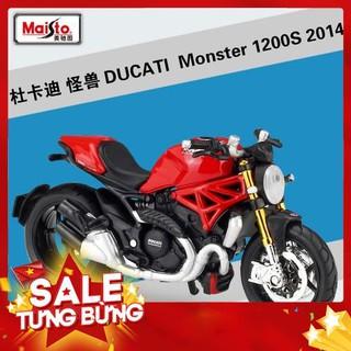 – Hàng nhập khẩu Mô Hình Xe Mô Tô Ducati Monster S4 Tỉ Lệ 1:18 Cao Cấp Liên hệ mua hàng 084.209.1989