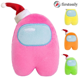 【COD/start】 among us cute game toy doll plush toy cartoon mascot 【fir】