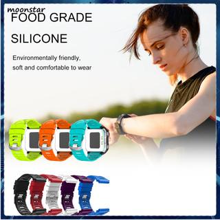 Dây Đeo Thay Thế Chất Liệu Silicon Màu Trơn Cho Garmin 920xt