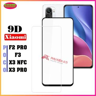 Kính cường lực full màn hình Poco X3 NFC Poco F3 Pro X3 Pro F2 Pro-Full màn hình và Trong suốt [Mã mới] thumbnail