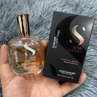 Tinh dầu nước hoa SDL cho tóc và cơ thể Alfaparf Sublime Water 2018 50ml thumbnail
