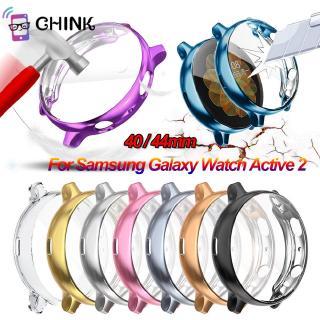 Ốp Tpu Siêu Mỏng Bảo Vệ Màn Hình Cho Samsung Galaxy Watch Active 2 40 44mm