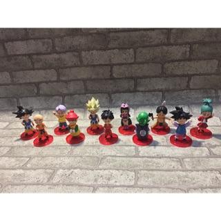 Mô hình (Figure) 11 nhân vật Dragon ball hồi nhỏ