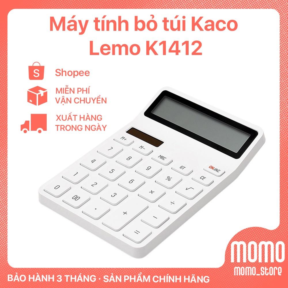 Máy tính bỏ túi  Xiaomi Kaco Lemo K1412 Hàng chính hãng