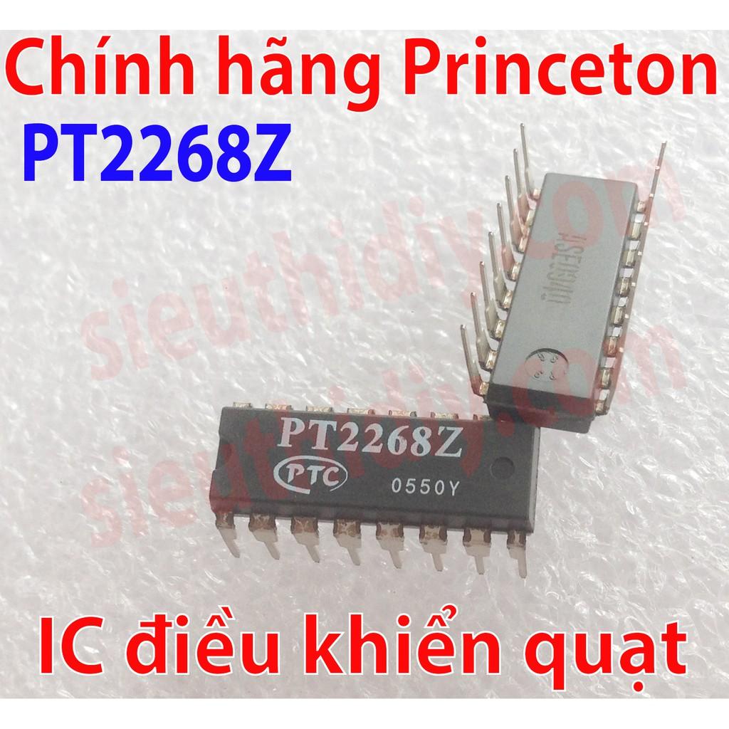 IC PT2128A-C84, PT2268Z chính hãng Princeton mạch điều khiển quạt National - Philips - Asia - Chingh