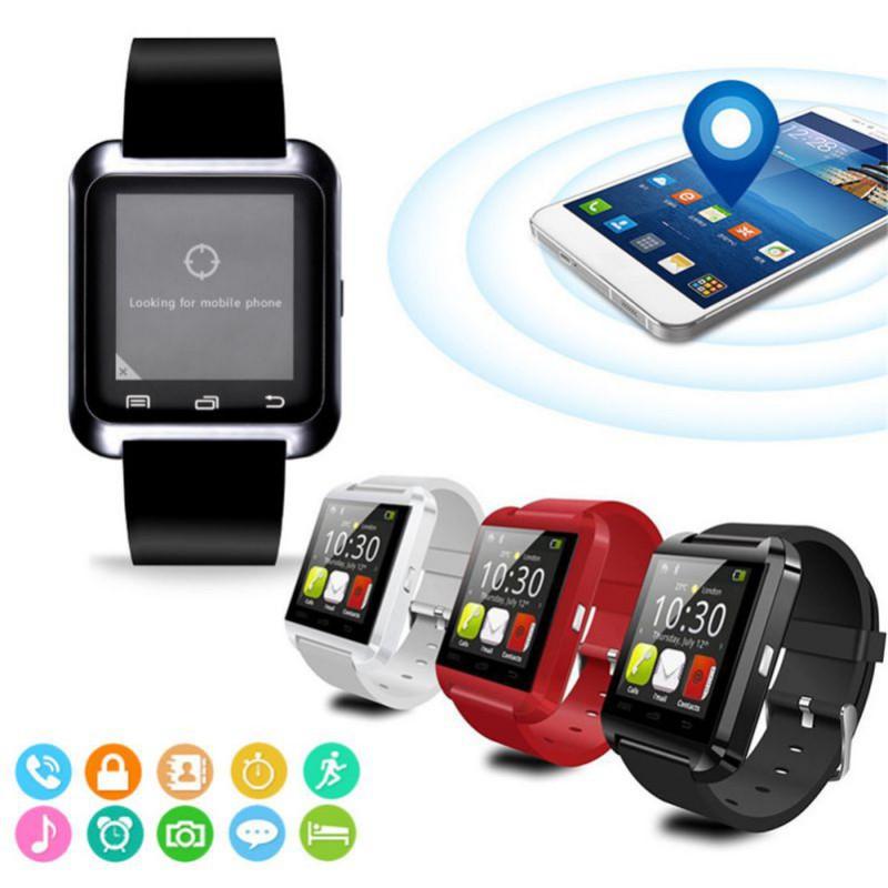 Đồng Hồ Đeo Tay Thông Minh U8 Chống Nước Kết Nối Bluetooth Theo Dõi Sức Khỏe Kèm Phụ Kiện