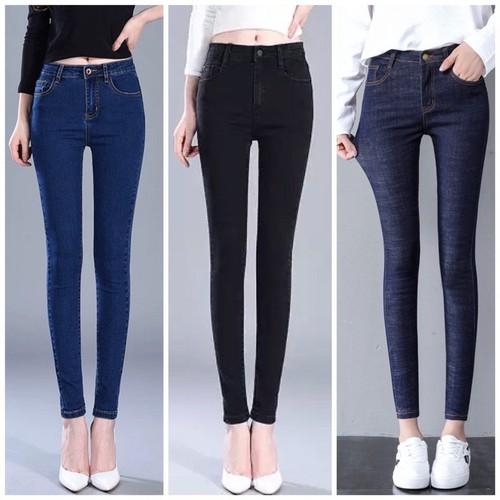 Quần jean nữ💖FREESHIP co giản cao cấp size 25-35
