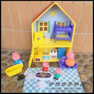 Ngôi nhà heo peppa pig