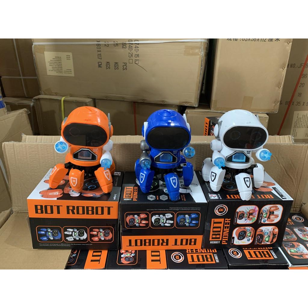 DEAL HOT] Đồ chơi Robot Điện Tử Thông Minh kèm, video thật giá cạnh tranh