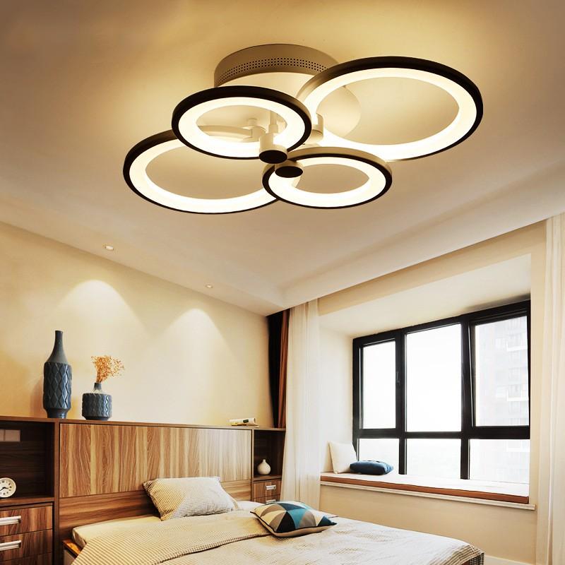 Đèn LED Ốp Trần Trang Trí Phòng Khách Hiện Đại - Đèn trần trang trí phòng khách, phòng ngủ