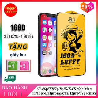 Kính cường lực iPhone 168D Full Màn SD DESIGN ip 6 6s plus 7 7plus 8 8plus x xr xs max 11 11 pro 11 promax 12 12 promax thumbnail
