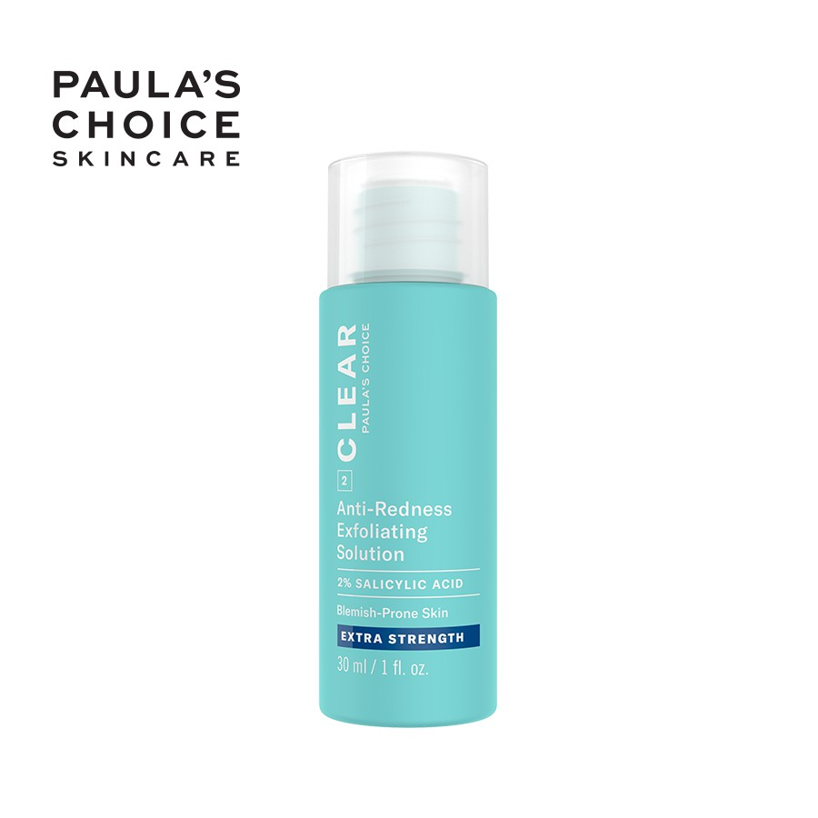 Dung dịch ngăn ngừa mụn Paula's Choice Clear Extra Strength Anti-Redness Exfoliating Solution fullsize 30ml Mã:6216