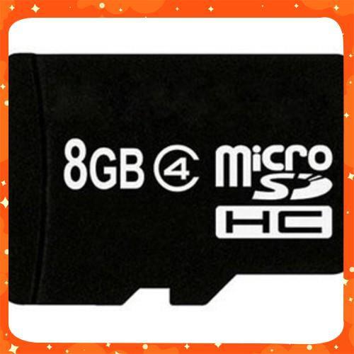 HÀNG HOT Thẻ nhớ Micro SD 8 GB Class 4 MỚI VỀ Giá chỉ 234.900₫