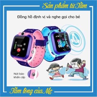 Đồng Hồ Thông Minh Định Vị Trẻ Em A28 Chống Nước Có Tiếng Việt