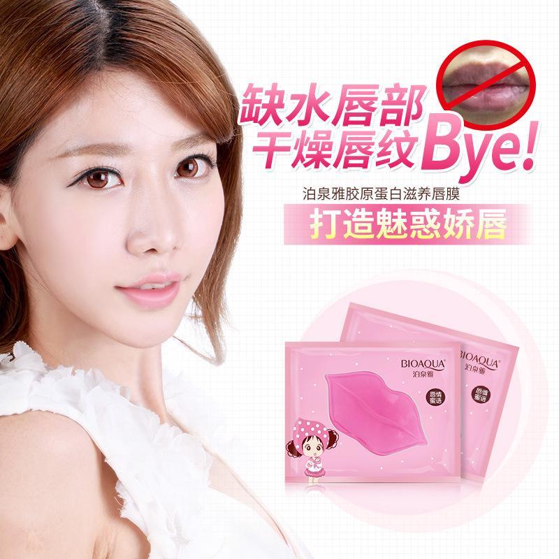 (hàng Mới Về) Mặt Nạ Môi Bổ Sung Collagen Dưỡng Ẩm Cho Môi thumbnail