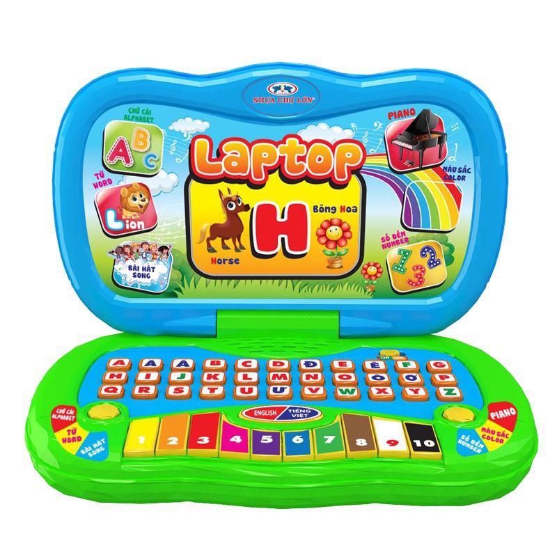 [Đồ chơi an toàn] Đồ Chơi Laptop Vui Học - M1709-BB73-2I [Hàng VN chất lượng cao]