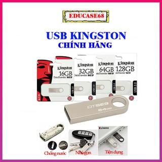 USB Kingston 8GB, 16GB, 32GB, 64GB chính hãng, Usb Kingston chống nước, nhỏ gọn, vỏ kim loại Educase68