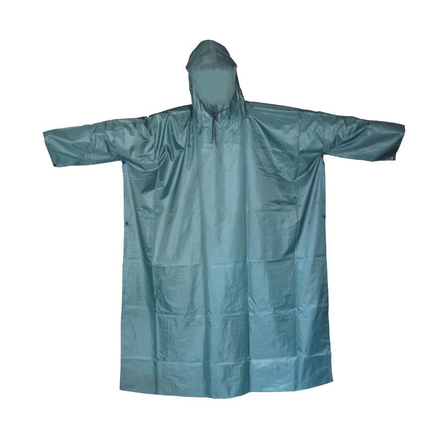 Áo mưa cánh dơi vải dù (Xanh Rêu)