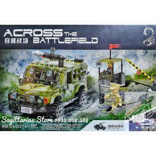 LEGO Lắp Ráp Xe Jeep Quân Sự XingBao XB-06012 ( 497 Mảnh )