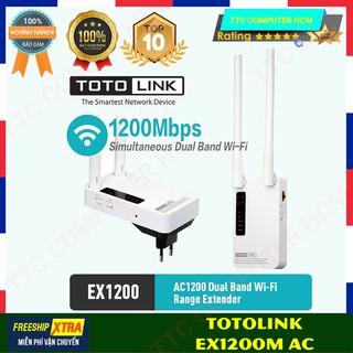 TOTOLINK EX1200M EXEX1200M - Bộ mở rộng sóng Wi-Fi chuẩn AC 1200Mbps - HÀNG CHÍNH HÃNG TTC COPUTER HCM thumbnail