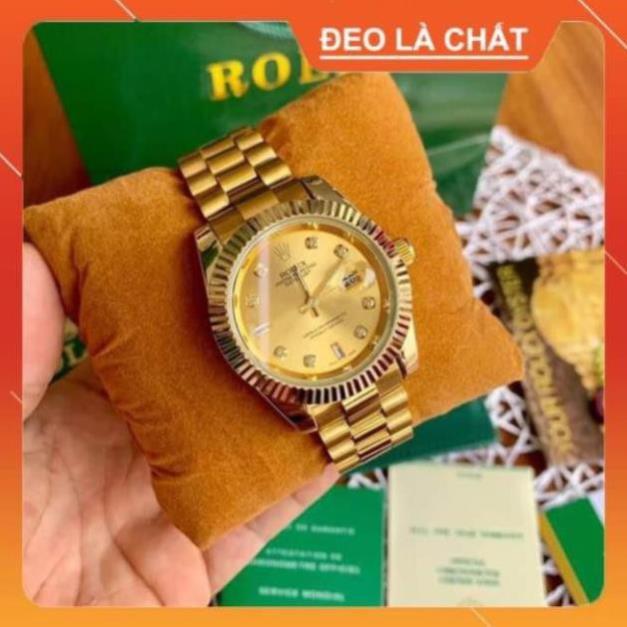 Đồng hồ nam rolex dây đặc thép không rỉ không bay màu - Rolex_collections