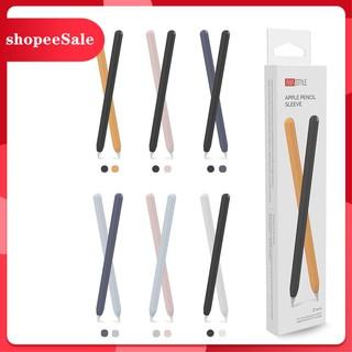 [Hàng mới về] Ốp Case Apple Pencil 2 Silicone Cao Cấp Thương Hiệu Aha Style Combo 2 Màu thumbnail