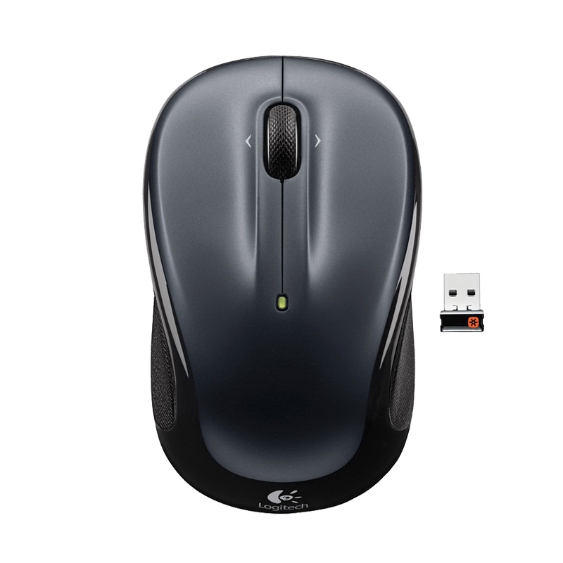 wireless mouse✸❡Official flagship Store-Logitech M325 Wireless Mouse notebook computer home power saving excellent offi