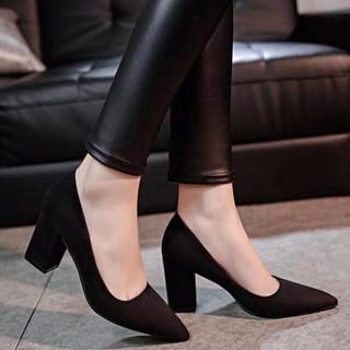 D3 - Giày nữ cao gót da lôn 5 cm