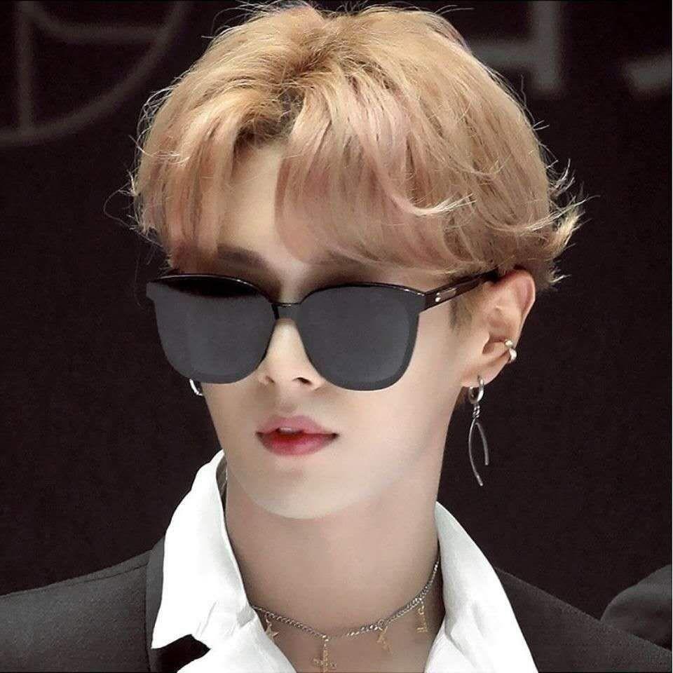 Kính mát thời trang kính mắt gọng vuông nam nữ KM21