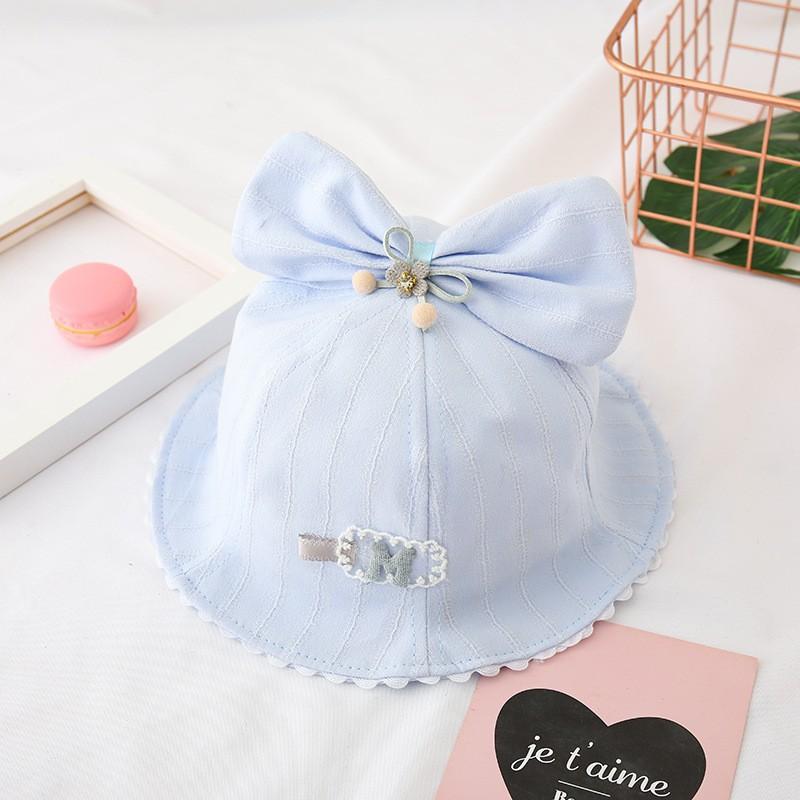Mũ Cho Bé Gái Phối Hình Dễ Thương Phong Cách Hàn Quốc Mũ Trẻ Em Phù Hợp Cho Bé Từ 1 đến 3 tuổi PK22
