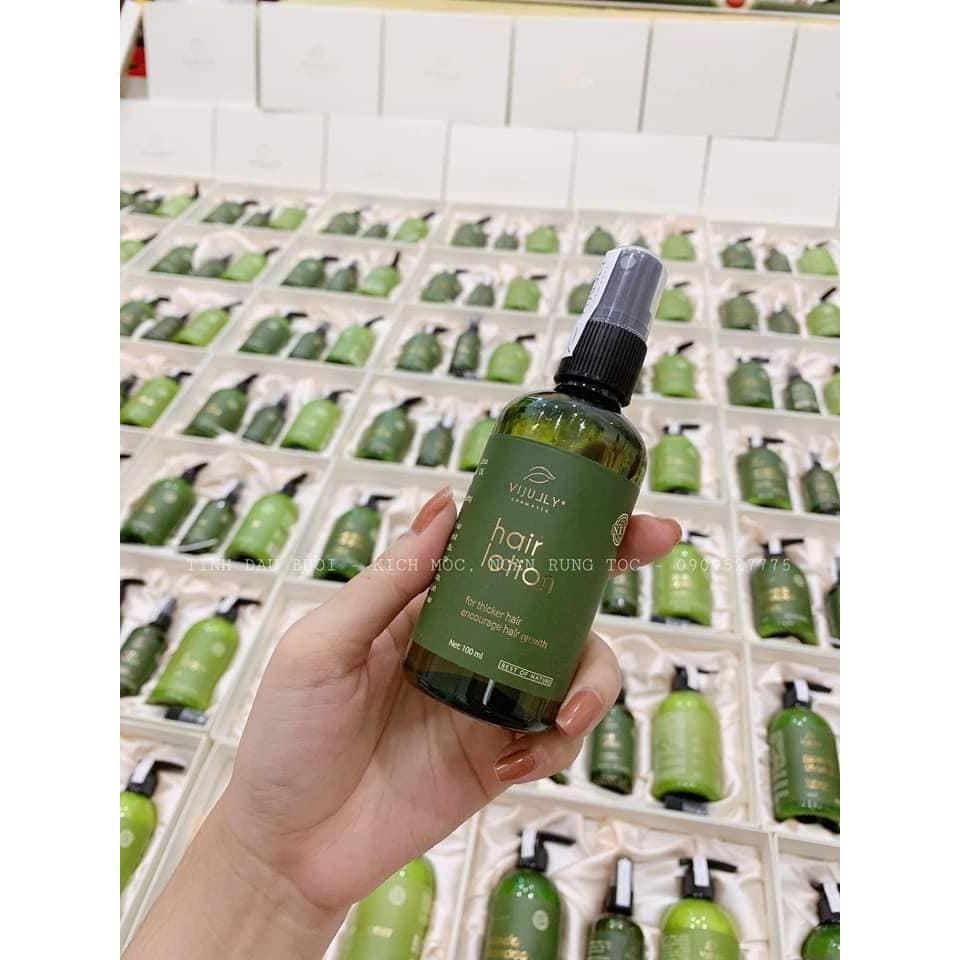 [CHÍNH HÃNG] Tinh dầu xịt bưởi VIJULY kích mọc tóc, ngăn rụng tóc